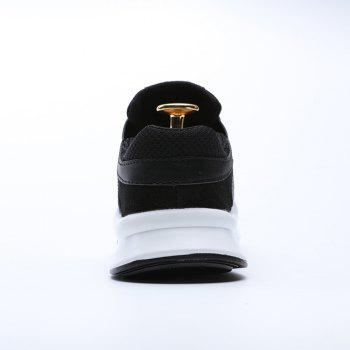 Running Female Couple Student Sneakers Jogging Shoes - BLACK BLACK