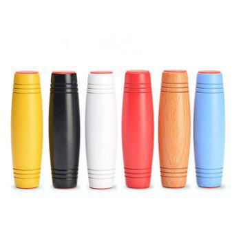 New Style Flipping Fidget Stick Stress Reliever Desktop Flip Toys Co-ordination Concentration Trainer - WOOD