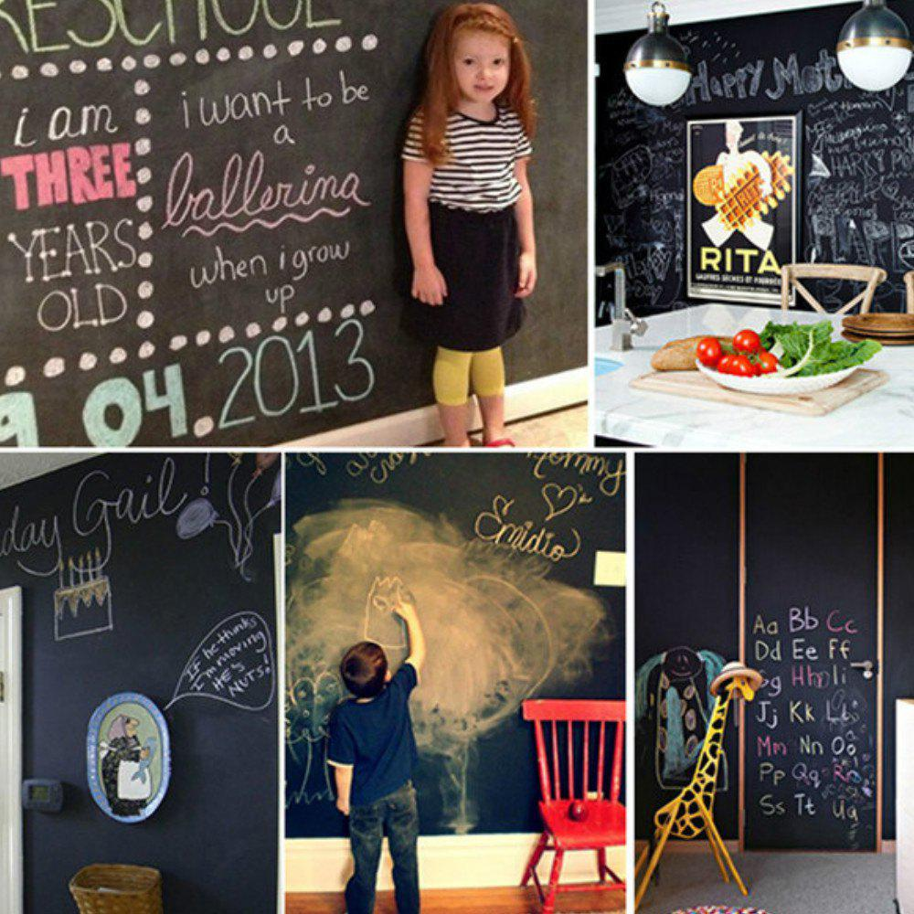 45x200cm Board Blackboard Stickers Removable Decor Mural Decals Art Chalkboard Wall Sticker home decoration removable quote wall art sticker
