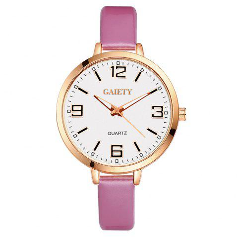 GAIETY G228 Women Leather Watch - PINK