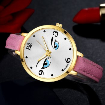 GAIETY G300 Women Fashion Leather Watch - PINK