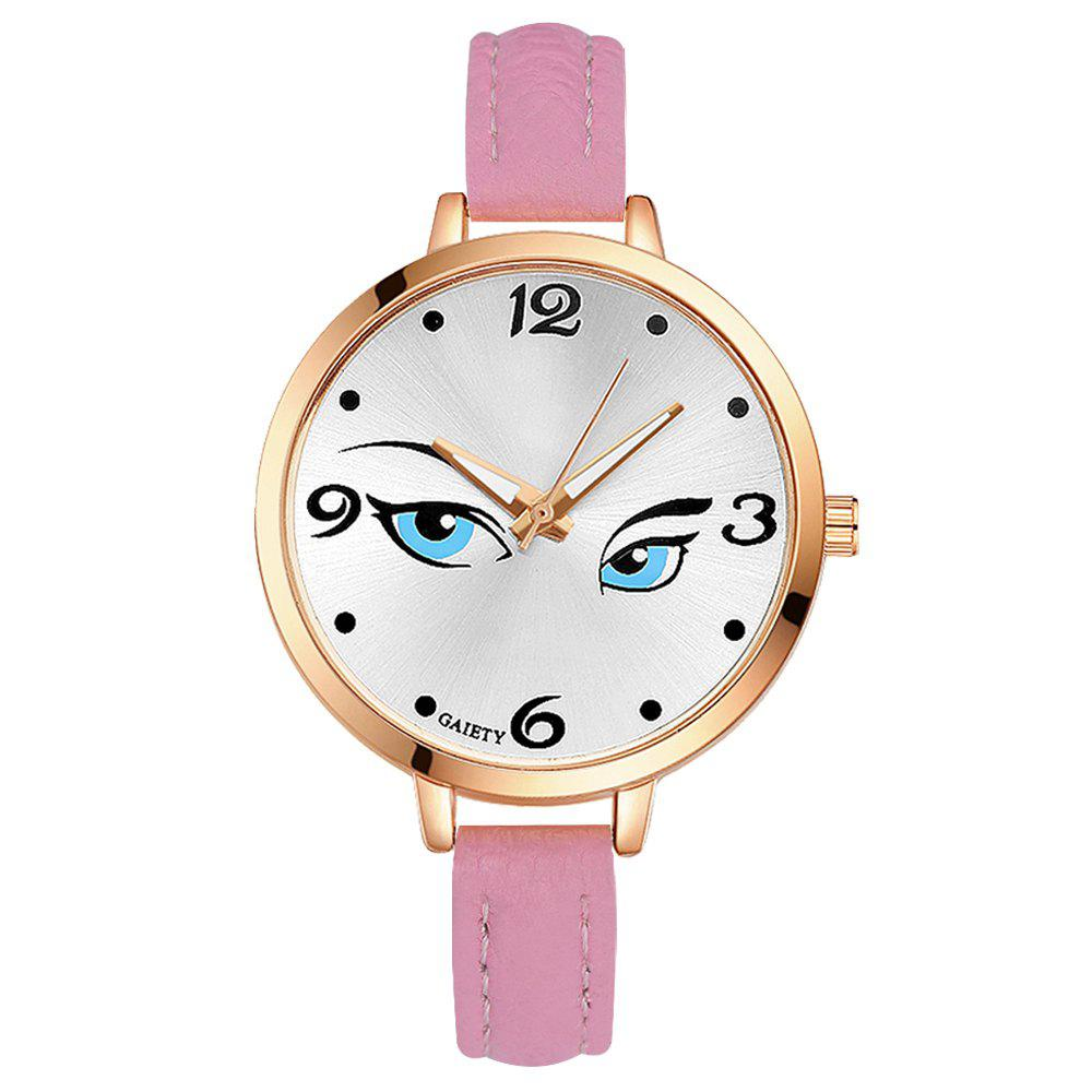 GAIETY G301 Women Fashion Leather Watch - PINK