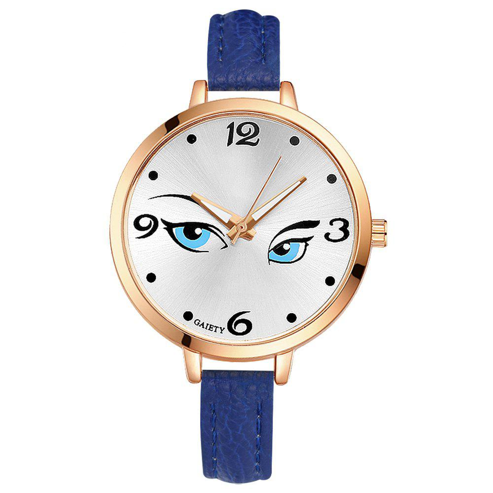 GAIETY G301 Women Fashion Leather Watch - BLUE