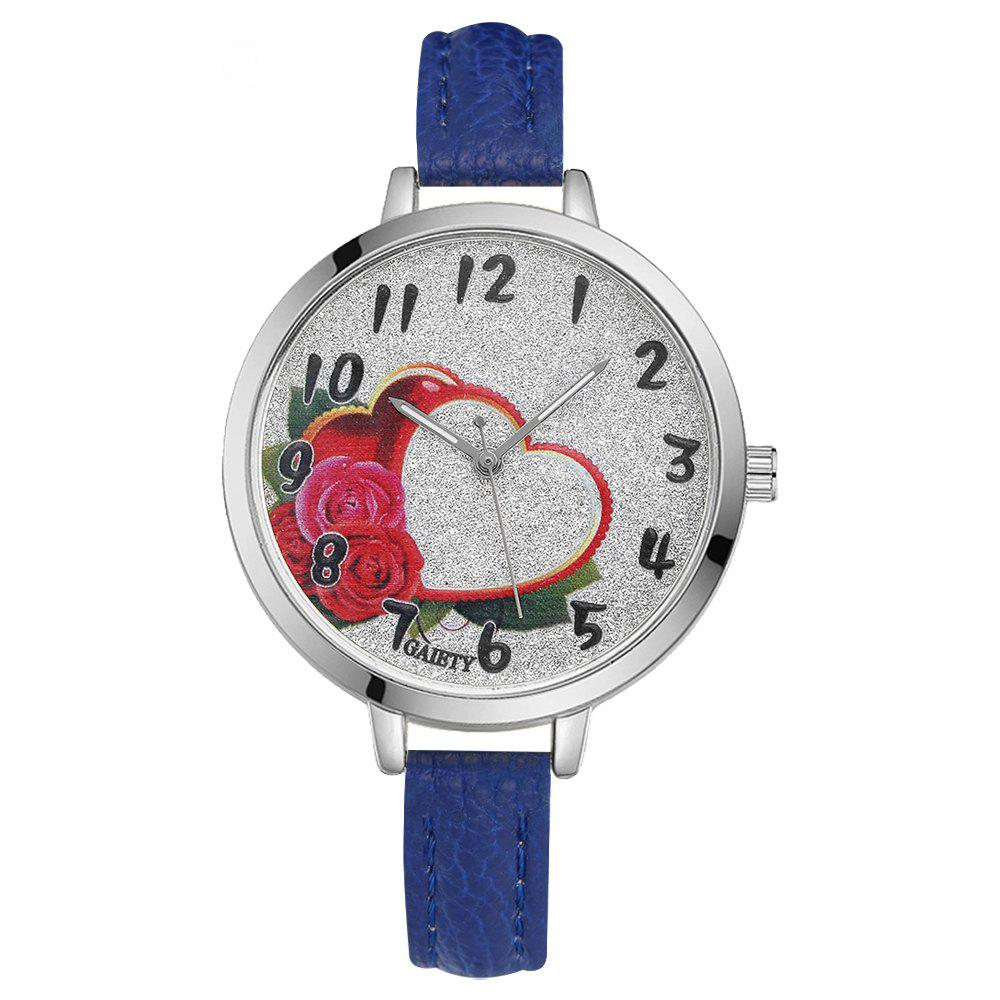 GAIETY G314 Women Fashion Silver Watch - BLUE