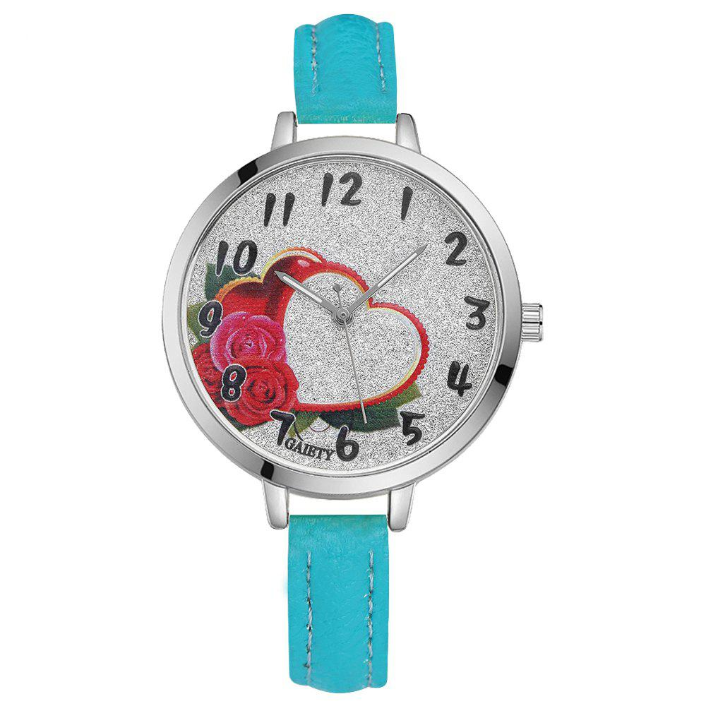 GAIETY G314 Women Fashion Silver Watch - SKYBLUE