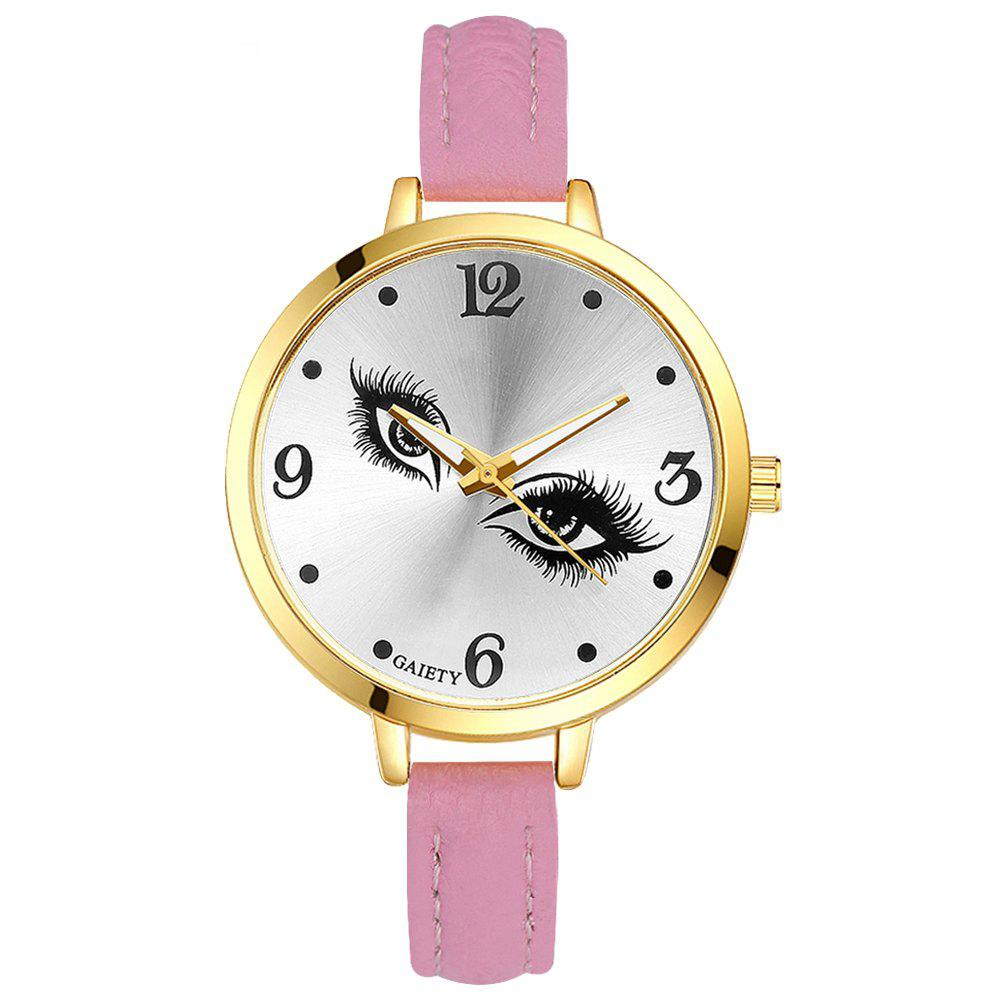GAIETY G318 Women Fashion Leather Watch - PINK