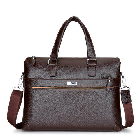 Computer Bag Briefcase Men 'S Bag Business Bag - BROWN