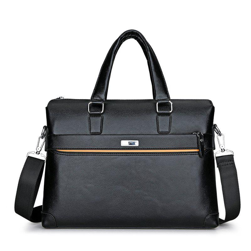 Computer Bag Briefcase Men 'S Bag Business Bag - BLACK