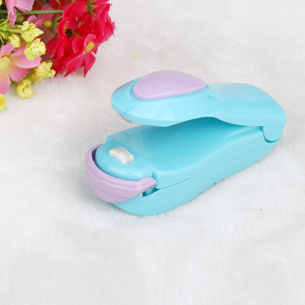 Portable Mini Heat Sealing Machine Impulse Sealer Seal Packing Plastic Bag TOP jiqi 100w portable pro smart mini food automatic sealing machine one button vacuum sealer for seal pack opp pe plastic bag