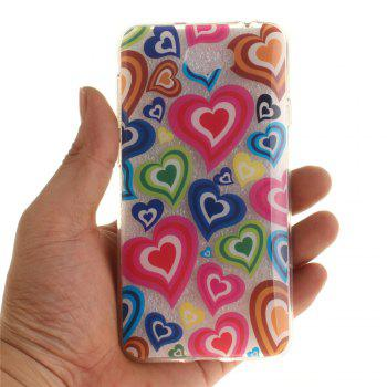 Color of Love Soft Clear IMD TPU Phone Casing Mobile Smartphone Cover Shell Case for Huawei Y5II - COLOUR
