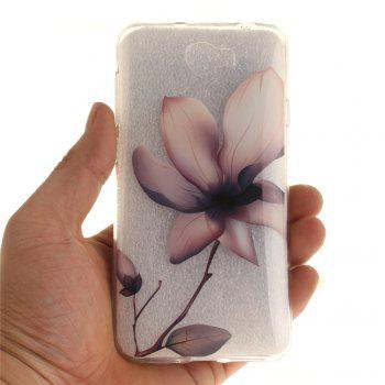 Magnolia Soft Clear IMD TPU Phone Casing Mobile Smartphone Cover Shell Case for Huawei Y5II - TRANSPARENT