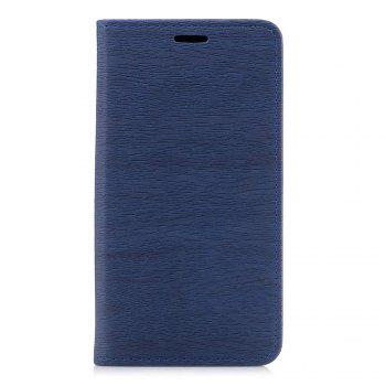 Cover Case for Xiaomi Redmi Note 4X Card Holder with Stand Flip Full Body Lines / Waves Hard PU Leather - BLUE BLUE