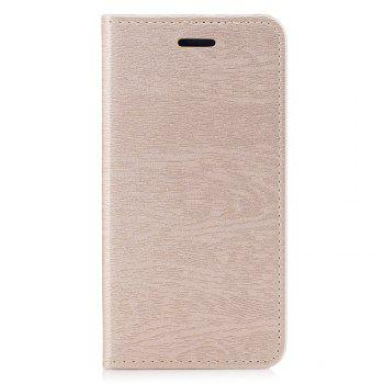 Cover Case for Xiaomi Redmi 4X Card Holder with Stand Flip Full Body Lines / Waves Hard PU Leather - GOLDEN GOLDEN