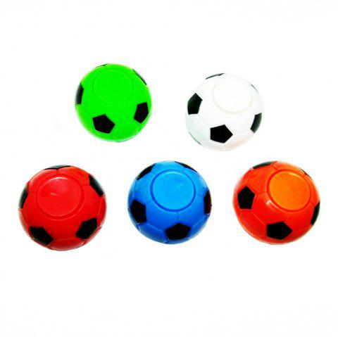 5 Pcs World Cup  Fidget Hand Finger Spinner Fingertip Football  Mini Fingertips Gyro Toys - COLORMIX