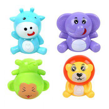 Baby Bed Bell Music Rotation Animal Early Education Baby Toy - COLORMIX