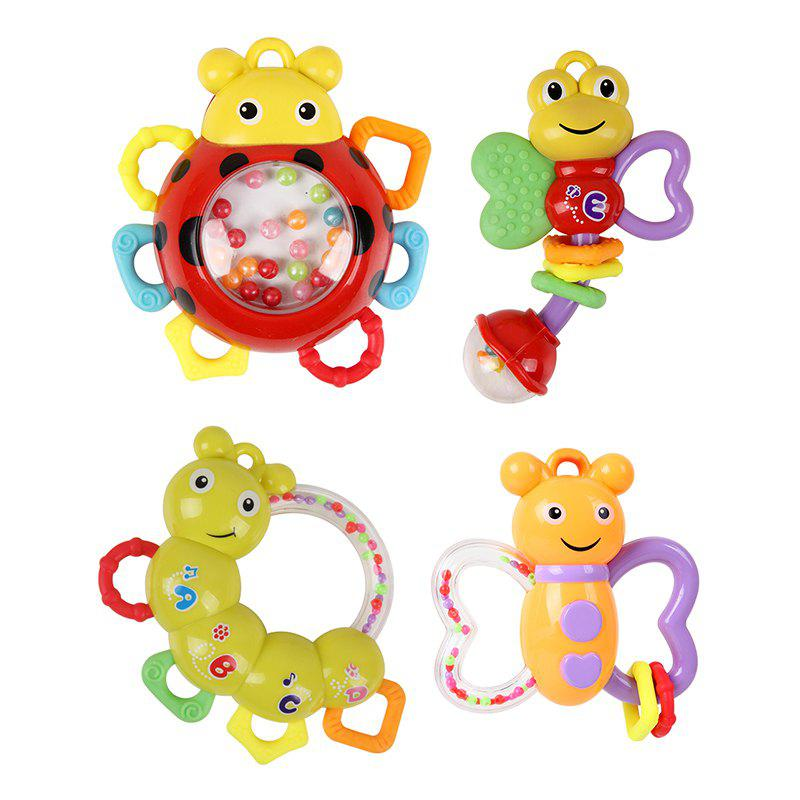Baby Bed Bell Music Rotation Newborn Baby Toy - COLORMIX