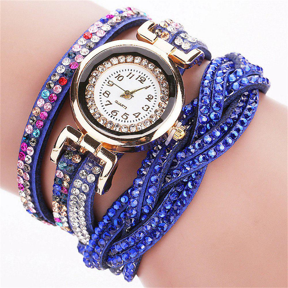 REEBONZ New Fashion Women Bracelet Watch - BLUE