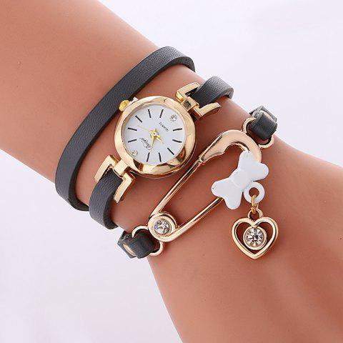 Reebonz New Fashion Lady's Leisure Bracelet Watch - GRAY