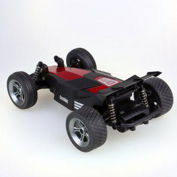 ATTOP YD-003 1:24 High Speed 2.4G Speed Remote Control Car Model Toy for Children - RED