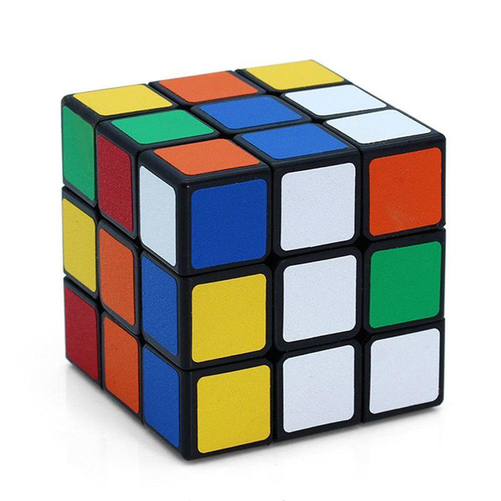 ABS Ultra-Smooth Professional Speed Magic Cube Puzzle Twist Toy Rubik magic cube iq puzzle