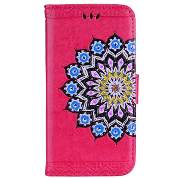 For Samsung Galaxy J3 2017 European Version of the Flash Powder Mandala Cover Covers the Shell - SANGRIA SANGRIA