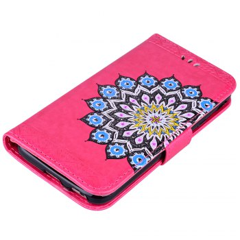 For Samsung Galaxy J3 2017 European Version of the Flash Powder Mandala Cover Covers the Shell -  SANGRIA