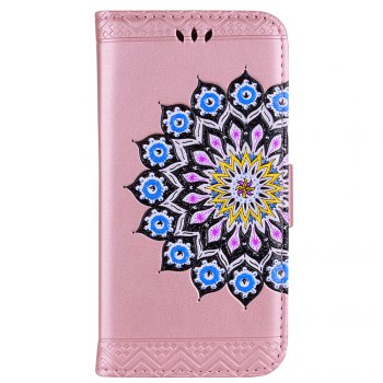 For Samsung Galaxy J3 2017 European Version of the Flash Powder Mandala Cover Covers the Shell - ROSE GOLD ROSE GOLD