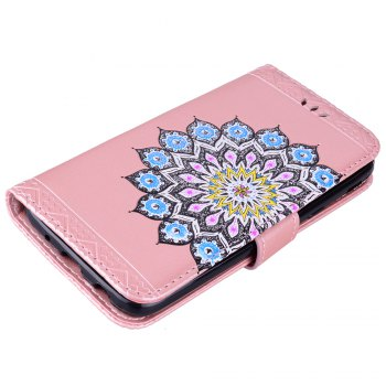 For Samsung Galaxy J5 2017 European Version of the Flash Powder Mandala Cover Covers the Shell - ROSE GOLD