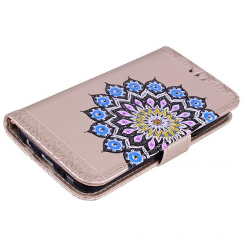 For Samsung Galaxy S7 Flash Powder Mandala Covers Cover Shell - GOLDEN