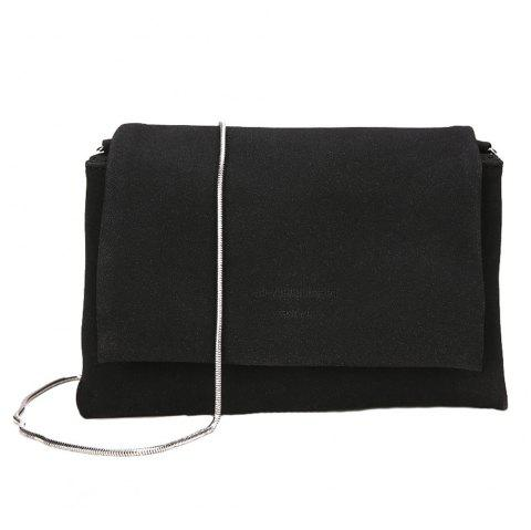 791a48d43e Simple and Elegant Female Bag Chain Small Side Bag Atmospheric Shoulder  Messenger Bag - BLACK