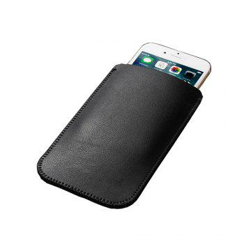 Charmsunsleeve For Samsung Galaxy S8 5.8inch Microfiber Leather Case Cover Pouch Sleeve - BLACK A