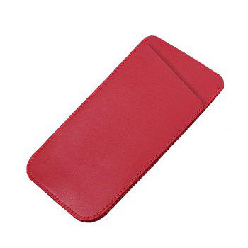 Charmsunsleeve For Samsung Galaxy S8 5.8inch Microfiber Leather Case Cover Pouch Sleeve - RED