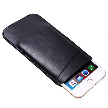 Charmsunsleeve For Samsung Galaxy C7 2017 C7100 Case Luxury Ultrathin Microfiber Leather phone Sleeve Bag Pouch Cover - BLACK