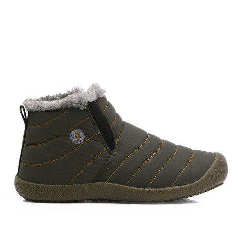 New Men'S Winter Plush Lovers' Casual Cotton Shoes - LIGHT BROWN 47
