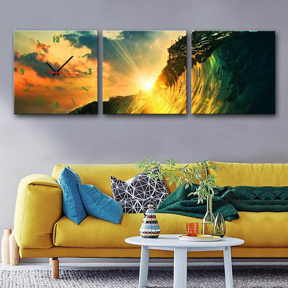 2018 Special Design Frame Paintings The light of the evening Print ...