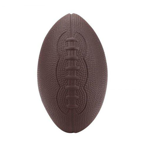 Mignon Football Parfumée Squishy Stress Relief balle Kawaii Poupée Fun jouet - Brun