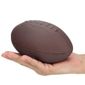 Cute Football Scented Squishy Stress Relief Ball Kawaii Doll Fun Toy - BROWN