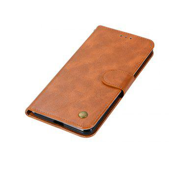 Luxurious Retro Fashion Flip Leather Case PU Wallet Cover Cases For Google Pixel 2 XL Smart Cover Phone Bag with Stand - CITRUS