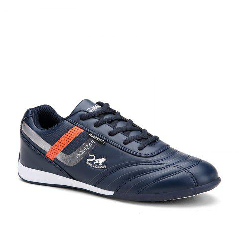 Traditional Casual Middle-Aged Men'S Shoes - BLUE 44