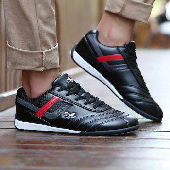 Traditional Casual Middle-Aged Men'S Shoes - BLACK 40