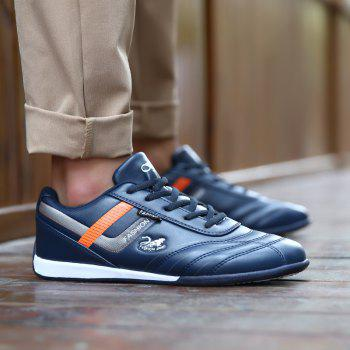 Traditional Casual Middle-Aged Men'S Shoes - BLUE 42