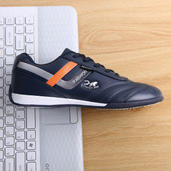 Traditional Casual Middle-Aged Men'S Shoes - BLUE 40