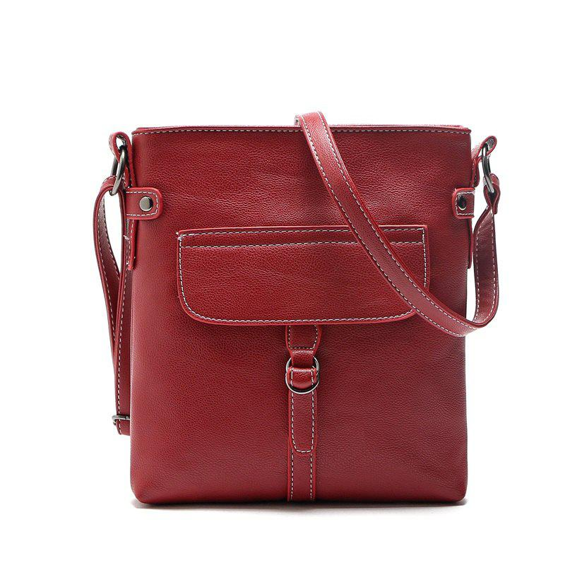 women bag New Fashion women Messenger Bags buckle bag High Quality PU leather Crossbody shoulder bags mzorange new simple genuine leather women shoulder bag handbag fashion brand small crossbody bag lady mini clutch bags 2018