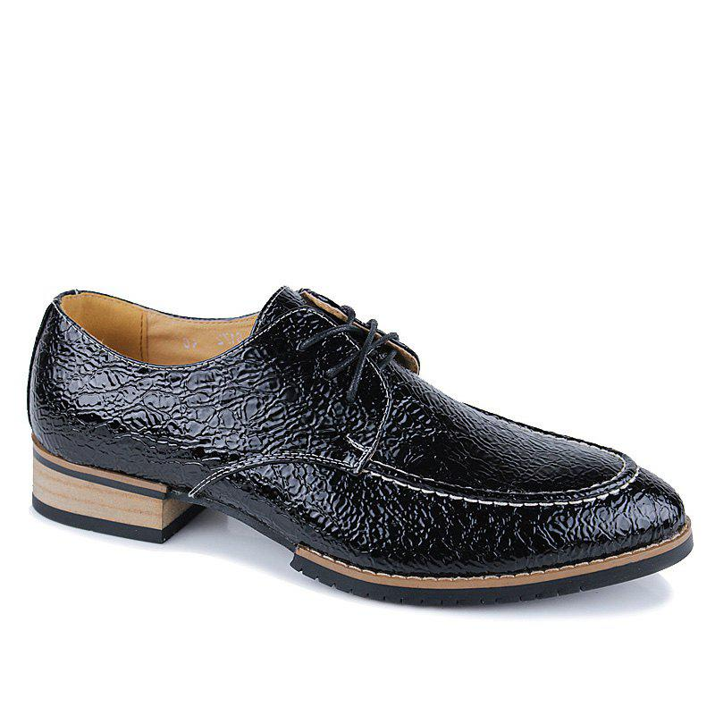 2018 Men Fashion Lace Up Durable Leather Shoes BLACK In Casual Shoes Online Store. Best Shoes ...