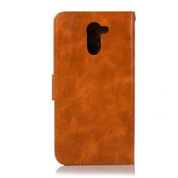 Luxurious Retro Fashion Flip Leather Case PU Wallet Cover Cases For Huawei Y7 2017 Smart Cover 5.5 Phone Bag with Stand - CITRUS