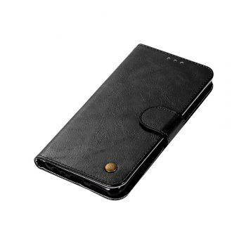 Flip Leather Case PU Wallet Case For Huawei Nova 2I / Huawei Mate 10 Lite Smart Cover Retro Fashion Phone Bag with Stand - BLACK