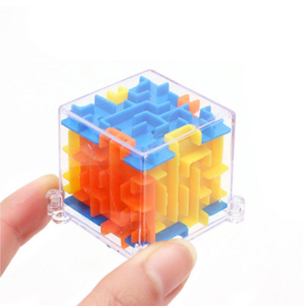 MINI 3D Maze Magic Cube Puzzle Speed Game Labyrinth Ball Educational Toys wat phra kaew cubicfun 3d educational puzzle paper