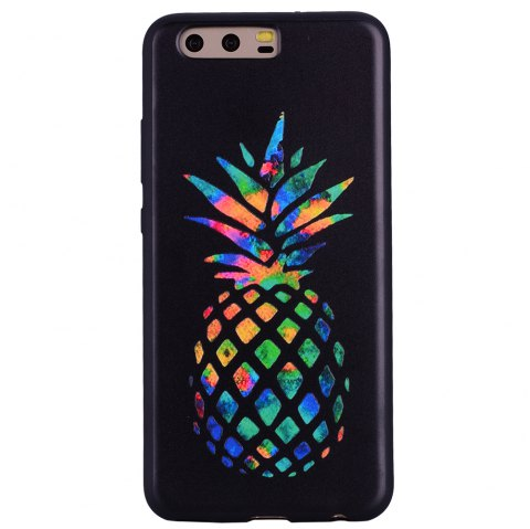 For Huawei P10 Color Pineapple TPU Mobile Phone Protection Shell - BLACK