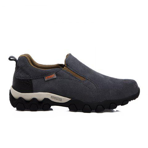 New Men'S Leisure Low-Top Mountaineering Shoes - GRAY 40