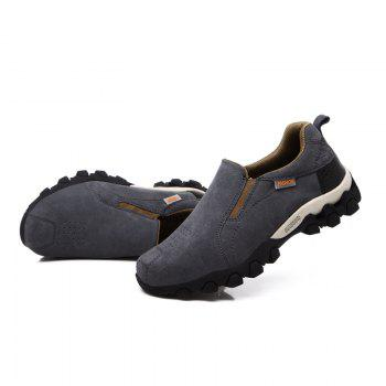 New Men'S Leisure Low-Top Mountaineering Shoes - GRAY 42